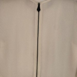 Burberry Dresses - NWT Burberry White Silk Dotted 3/4 Sleeved Dress